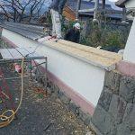 山門移築工事レポその1